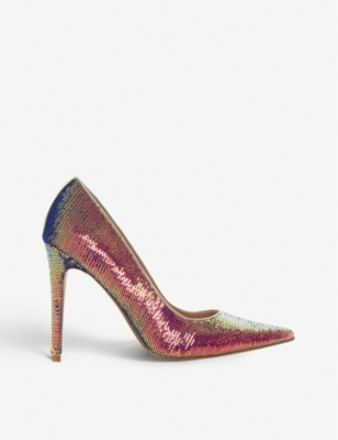 DUNE Amaretto ombré sequin courts