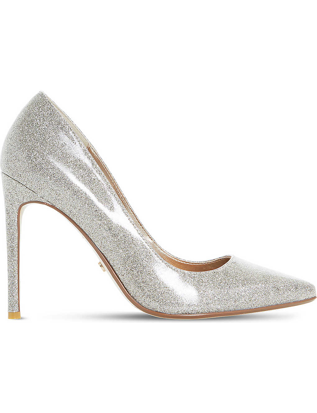 7579263168 DUNE - Amalfie glitter patent court shoes | Selfridges.com