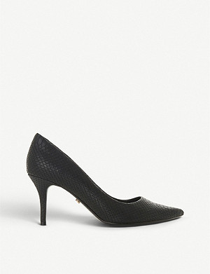 DUNE Allina reptile-embellished courts