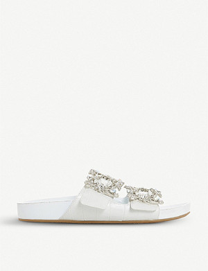 DUNE Natasia embellished sliders