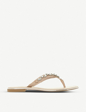 ce31e653e DUNE - Lou-Lou diamante-embellished sandals