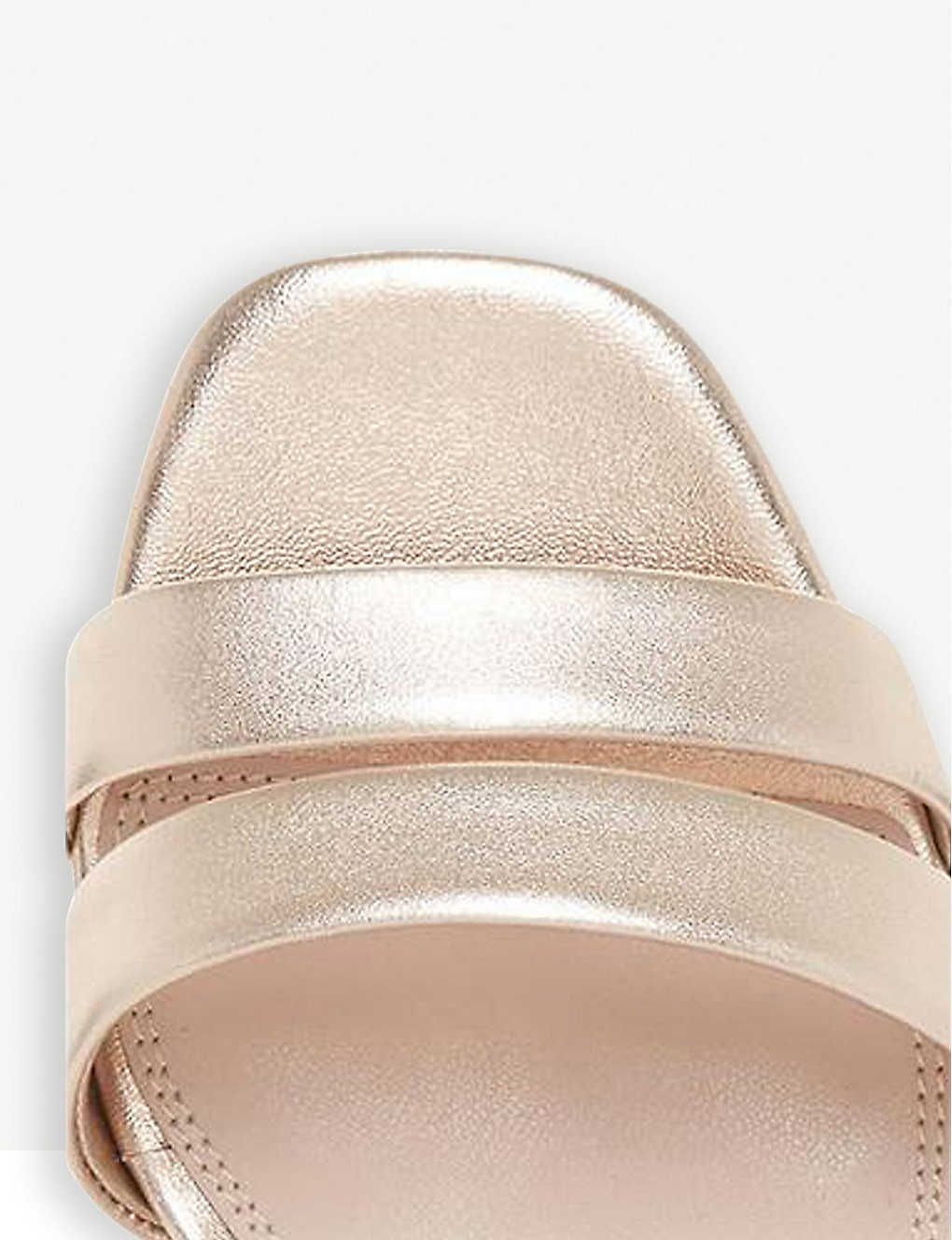 8cbdbffa5 DUNE - Meggan suede block-heel sandals   Selfridges.com