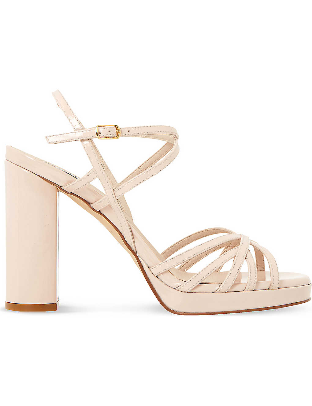 225115a2533 ... Magdalane patent-leather block heel sandals zoom ...