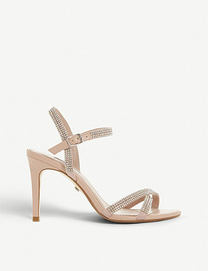 DUNE Magdalena diamante-embellished sandals