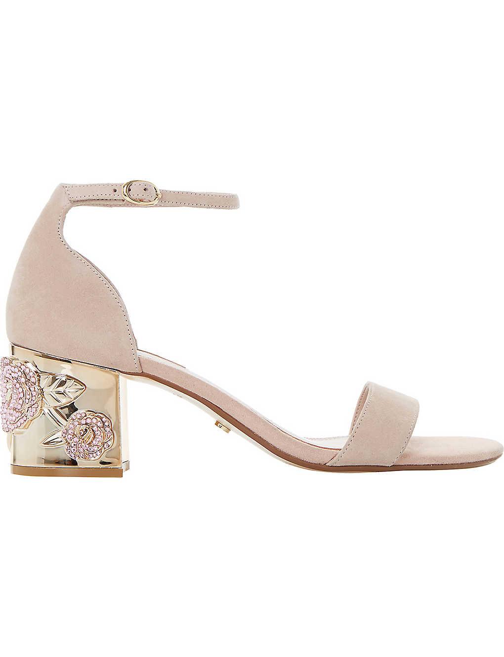 3229c9b309 DUNE - Maygo suede embellished sandals   Selfridges.com