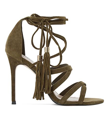 7bc4165564f DUNE - Munroe Ghillie suede heeled sandals