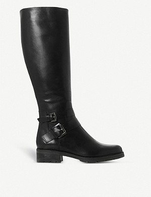 DUNE Knee-high leather boots