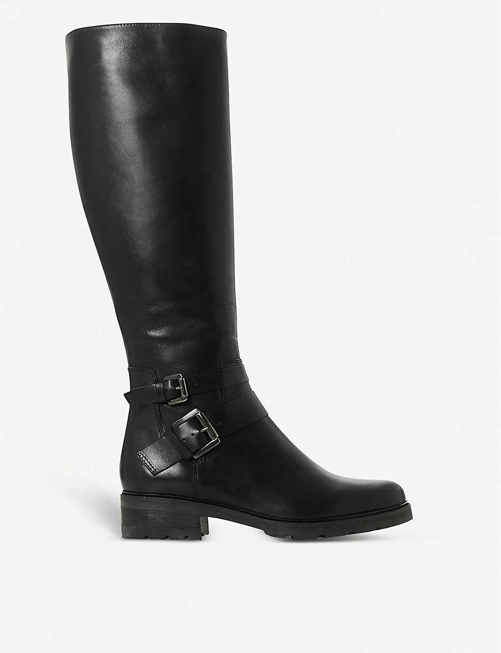 DUNE: Knee-high leather boots