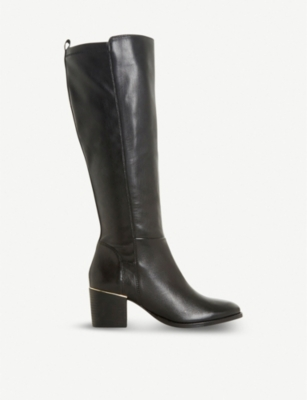 DUNE Trinney leather knee-high boots