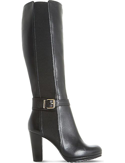 247d528d524 DUNE - Sebb knee-high leather boots | Selfridges.com