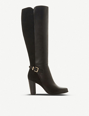 DUNE Samuella leather knee-high boots