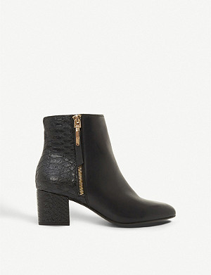 DUNE Orlla leather ankle boots