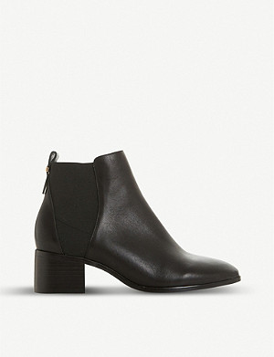 DUNE Ozzi leather Chelsea boots