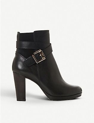 DUNE: Orrion leather ankle boots