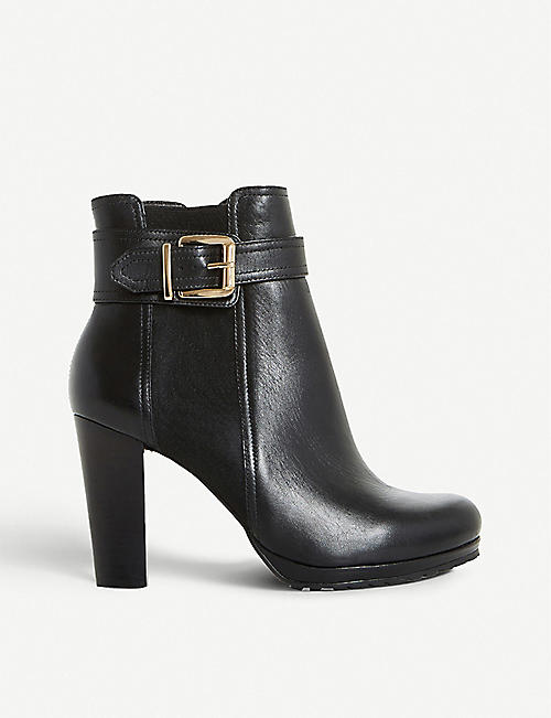 2ed39d53044e DUNE Orine leather ankle boots
