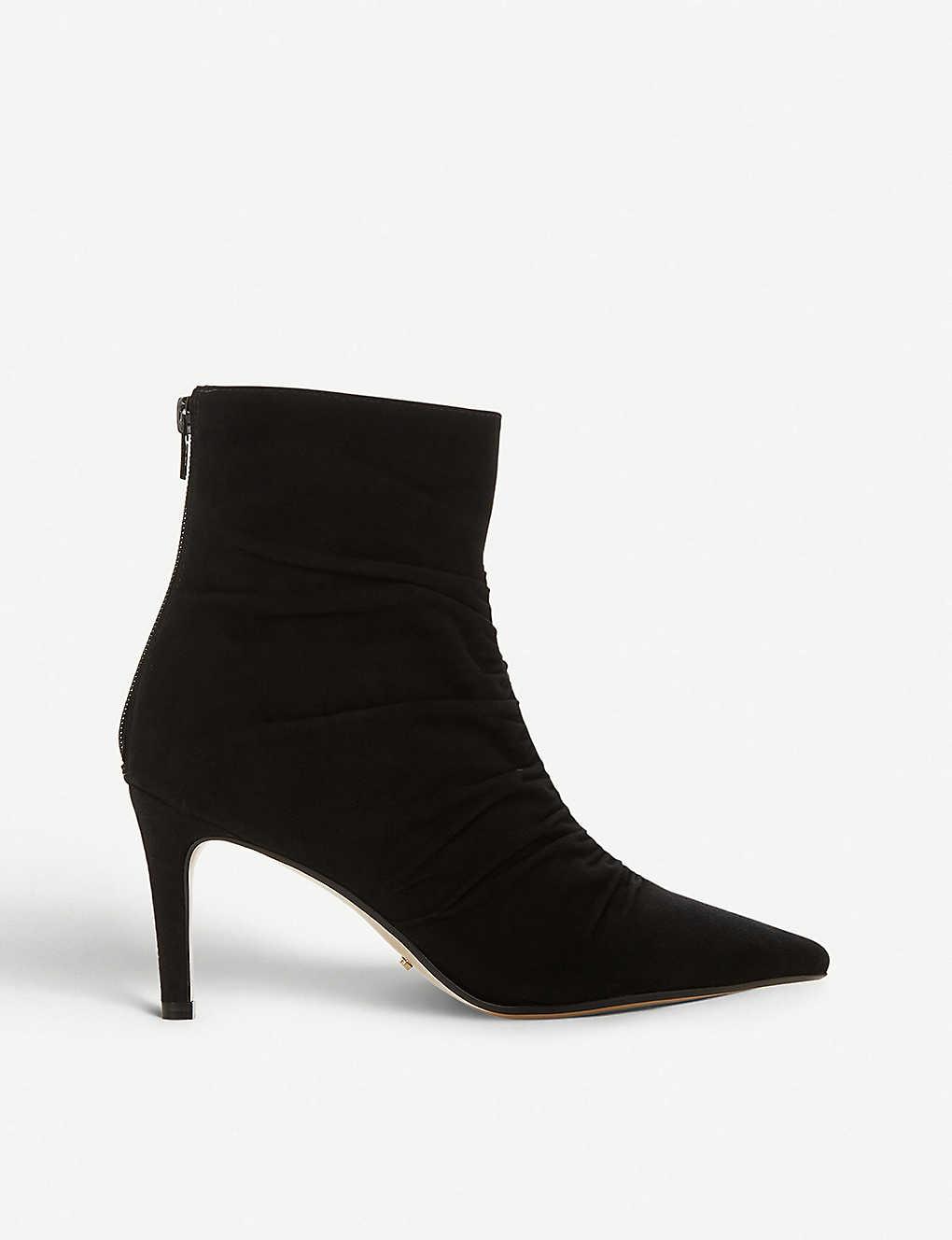18d50cdefc87 DUNE - Oasis suede ankle boots | Selfridges.com
