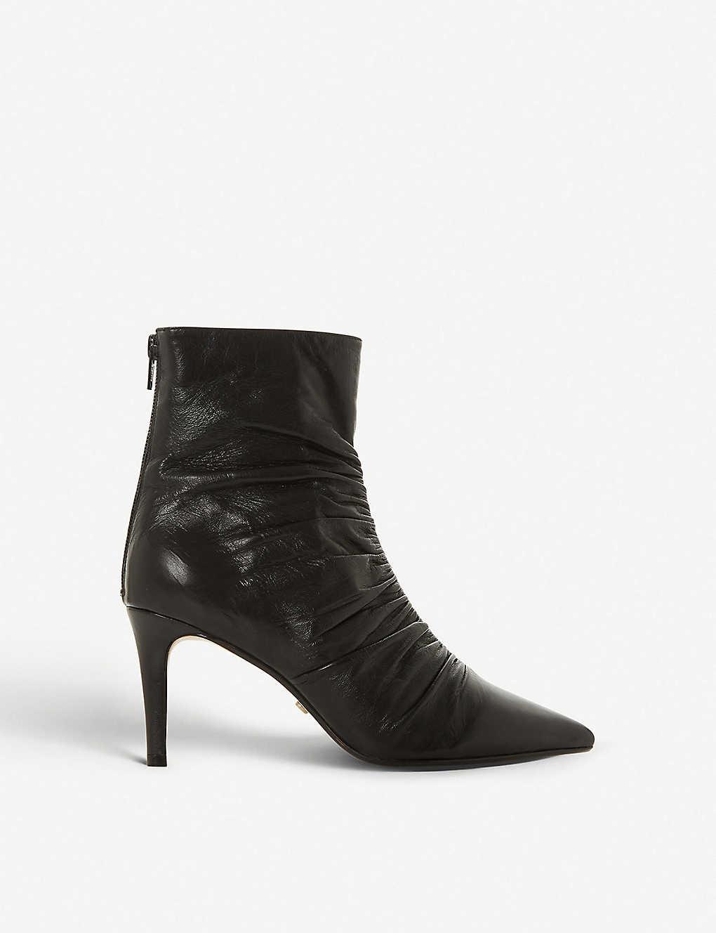 78d17c30cfa8 DUNE - Oasis leather ankle boots | Selfridges.com
