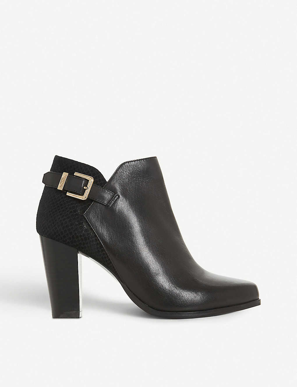 DUNE: Oleria leather and suede boots