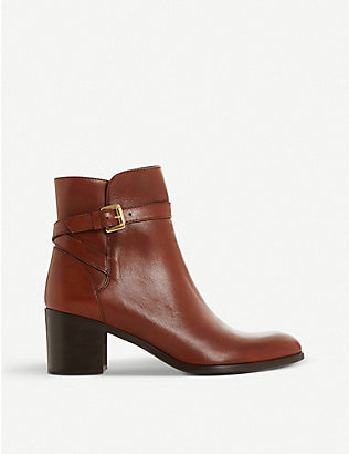 DUNE: Pacey leather ankle boots