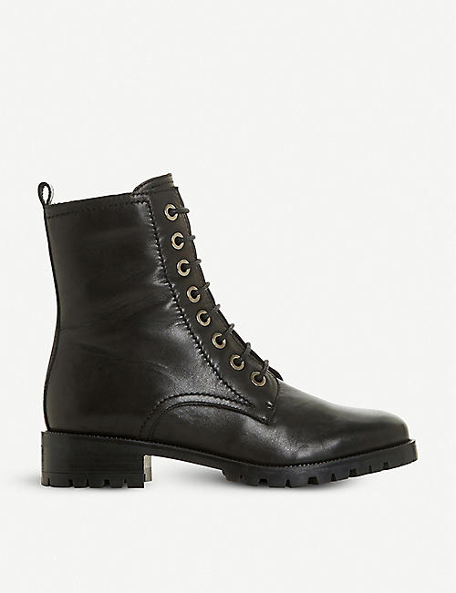 DUNE: Prestone leather boots