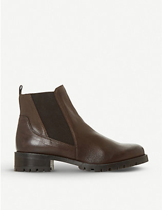 DUNE: Powerful block-heel ankle boot