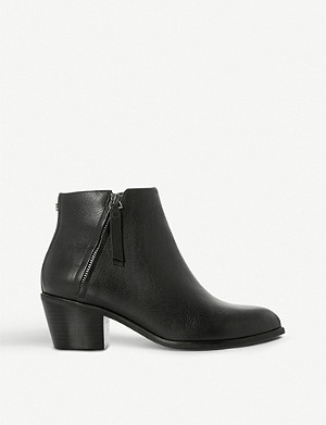 DUNE Paramount leather ankle boots