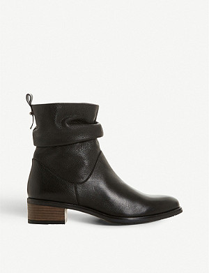 DUNE Pagers ruched ankle boot