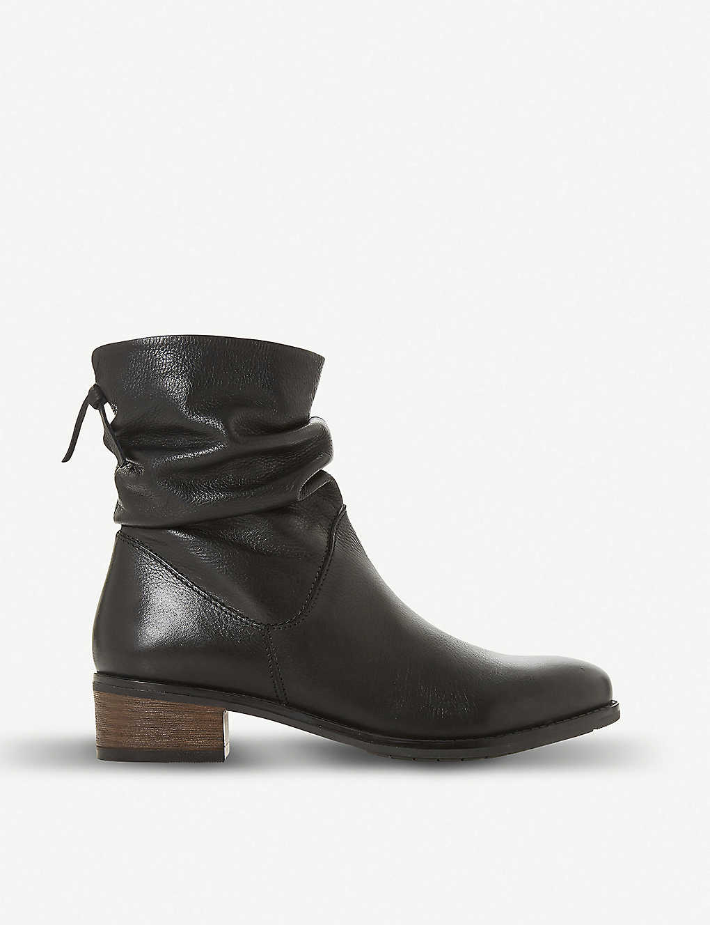 af89473a438 Pager leather ankle boots
