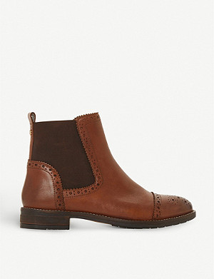 DUNE Queston leather Chelsea boots