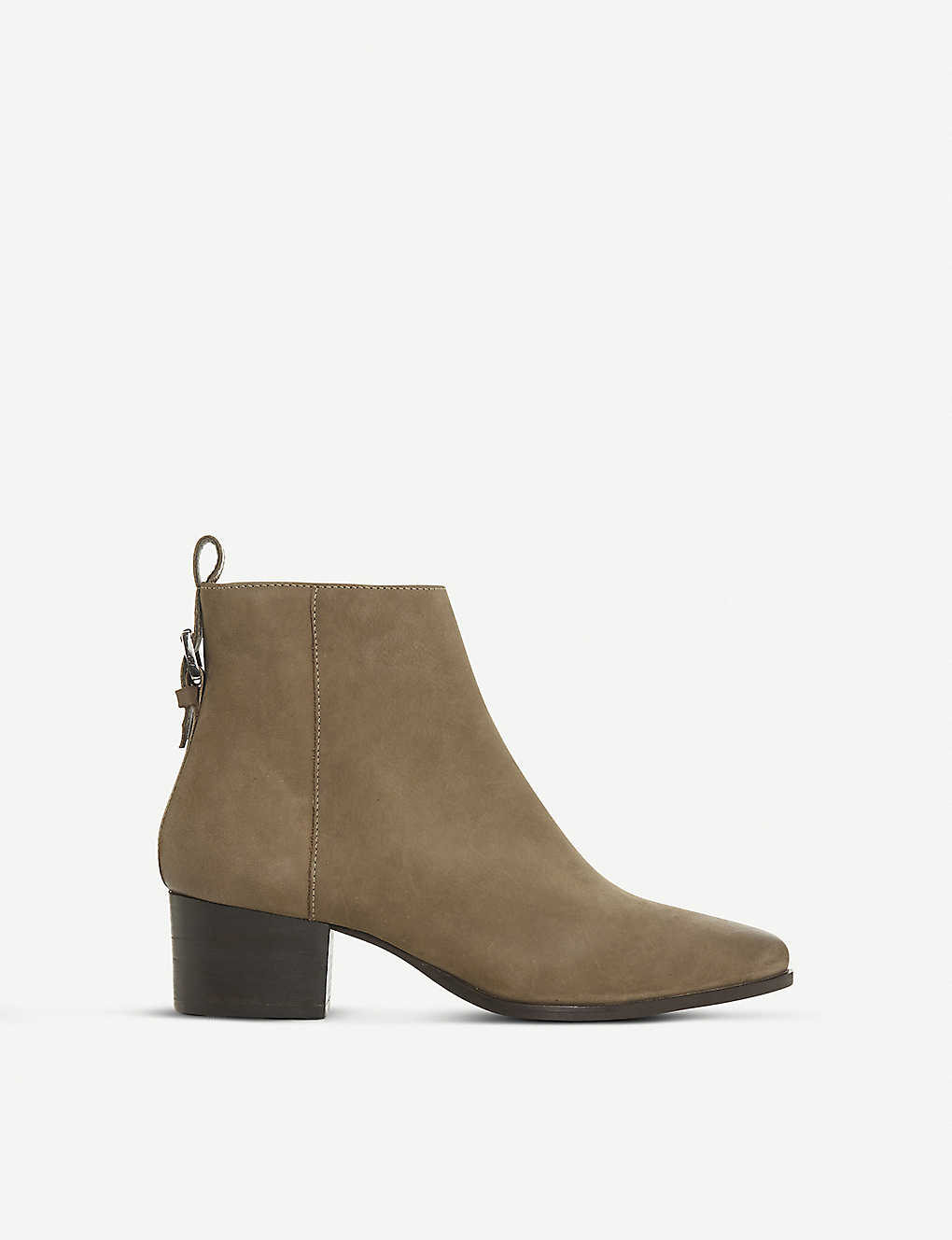 DUNE: Proudly nubuck leather ankle boots