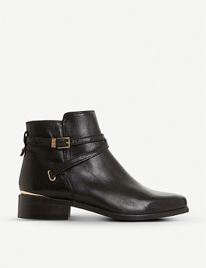 DUNE Peper leather ankle boots