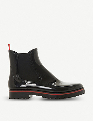 DUNE Primary high-shine Chelsea boots