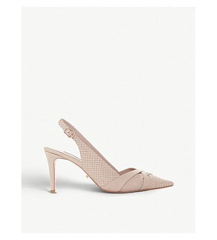 f13915d2e6710 ... slingback kitten heels (Blush-reptile. PreviousNext