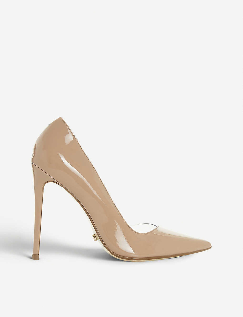 ded43917cc DUNE - Christyna clear-panel patent leather courts | Selfridges.com