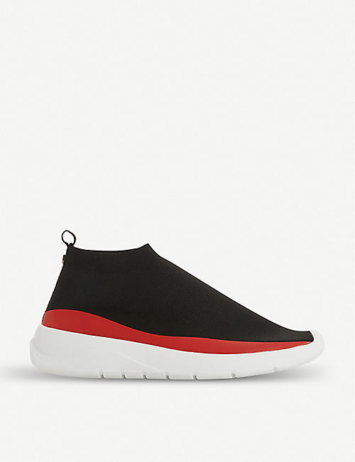 DUNE Eton knitted sock-fit trainers