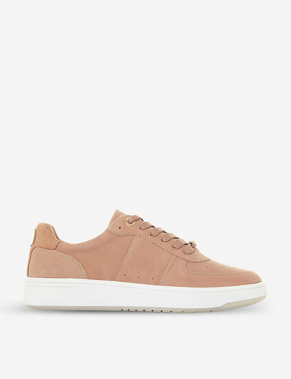 DUNE: Empress leather trainers