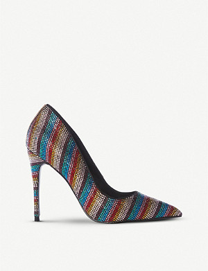 fc9dc905d17 STEVE MADDEN - Daisie-R Sm crystal-embellished court shoes ...
