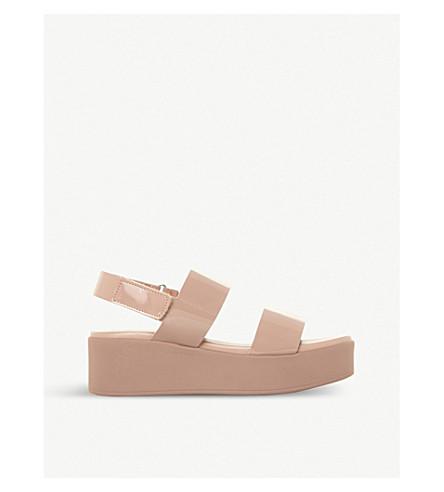 681fe0fceb34 STEVE MADDEN Rachel SM platform sandals (Nude-patent+synthetic
