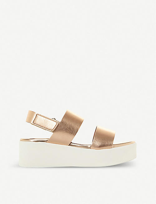 b02727f285 STEVE MADDEN - Flat sandals - Sandals - Womens - Shoes - Selfridges ...