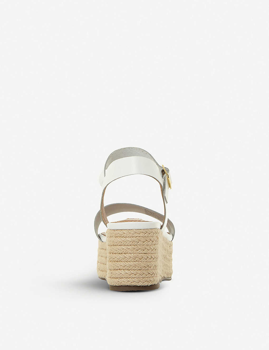 d94a7ae71f5 ... Busy SM leather and jute platform sandals - Whiteleather ...