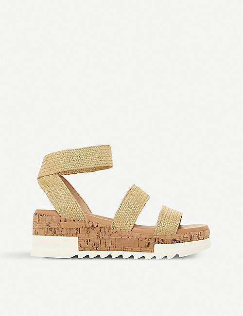 775eb67b6a1 STEVE MADDEN Bandi elastic-strap platform sandals
