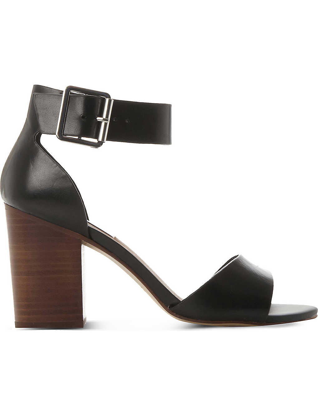 ef78fc5ff2d STEVE MADDEN - Estoria leather heeled sandals | Selfridges.com