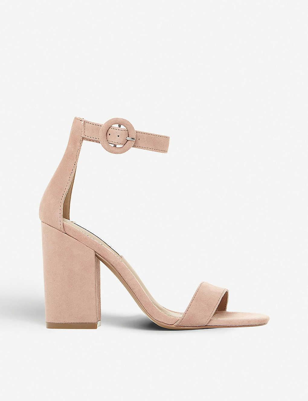c1c2cc2c3d STEVE MADDEN - Friday block heel suede sandals | Selfridges.comm