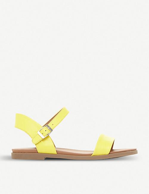 121a5af4240 STEVE MADDEN - Dina two-part leather sandals   Selfridges.com