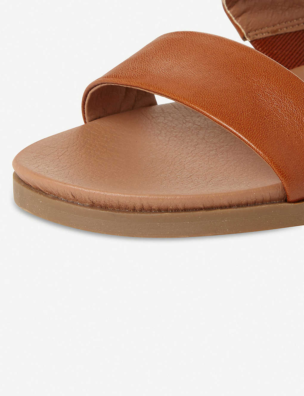 a3d9c4fba17 ... Judy two band leather sliders - Tanleather ...
