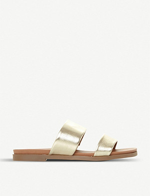 STEVE MADDEN Judy two band leather sliders