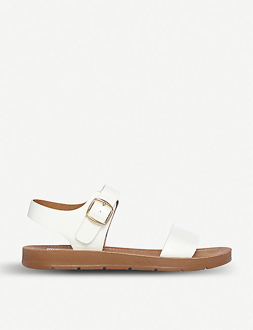 STEVE MADDEN Flat leather sandal