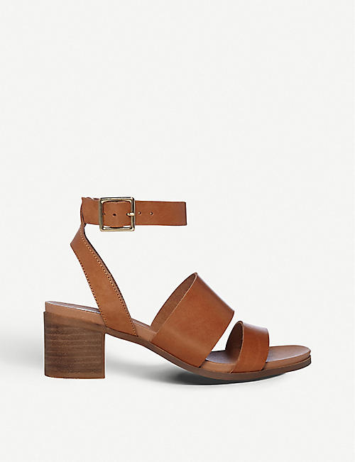 f80702bbc379 STEVE MADDEN Alex open-toe leather heeled sandals