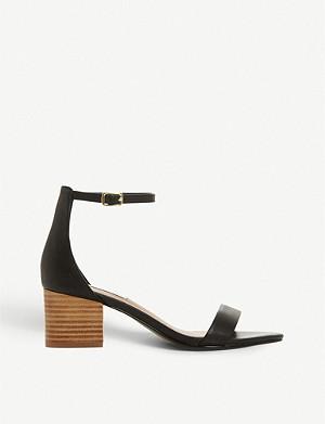 da908cb3af4 STEVE MADDEN - Faith metallic faux-leather sandals   Selfridges.com