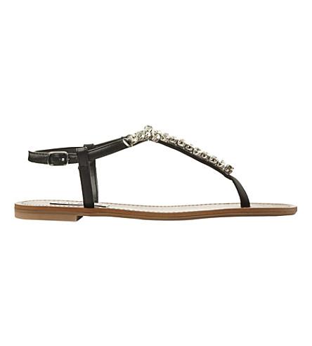 99de479dd202 STEVE MADDEN - Sidonie jewelled t-bar sandals